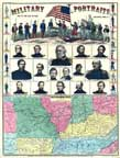 Western Border States and Portraits of Civil War Leaders