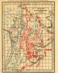 Battle Map of Chickamauga