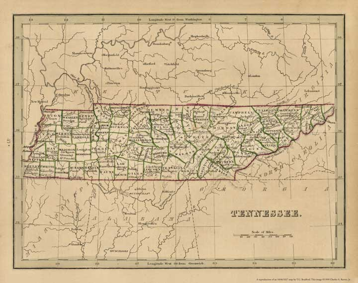 Tennessee 1837