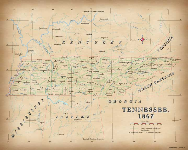Tennessee in 1867