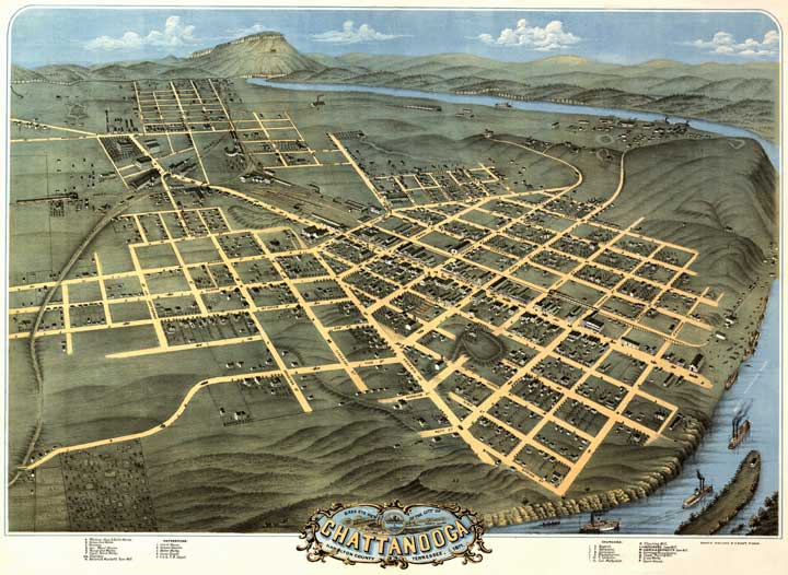 Chattanooga - Hamilton County 1871